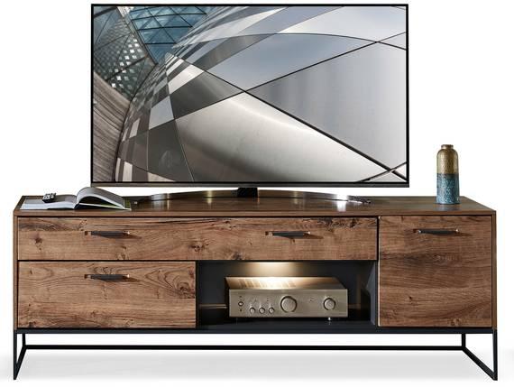 MILTON TV-Unterteil II, Material MDF, eichefarbig  DETAIL_IMAGE