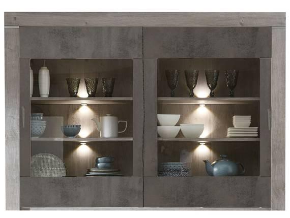 GOLONA Buffet-Aufsatz, Material MDF, haveleichefarbig/betonfarbig  DETAIL_IMAGE