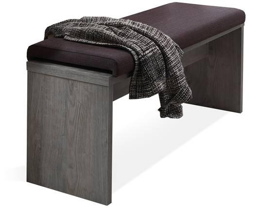 GOLONA Sitzbank 126 cm, Material MDF, haveleichefarbig  DETAIL_IMAGE