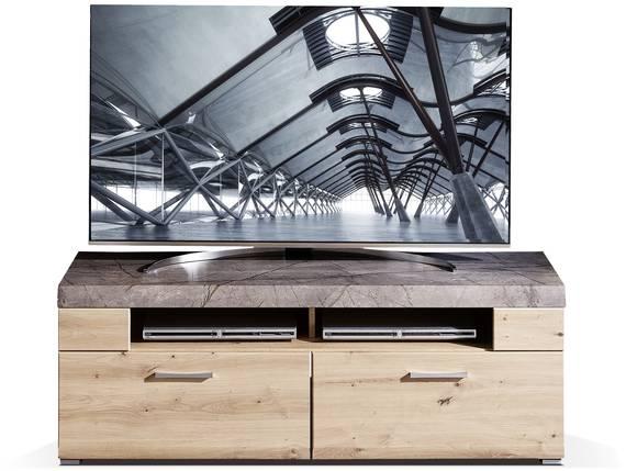SILVANO TV-Unterteil, Material MDF, Artisan eichefarbig  DETAIL_IMAGE