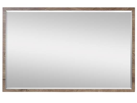 MILTON Spiegel, Material Dekorspanplatte, eichefarbig 99 x 64 cm DETAIL_IMAGE