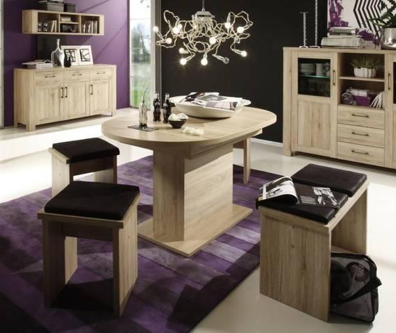 bochum esstisch oval sanremo eiche 160 cm. Black Bedroom Furniture Sets. Home Design Ideas