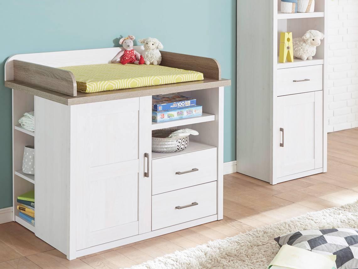 wickelkommode lucy pinie wei tr ffel. Black Bedroom Furniture Sets. Home Design Ideas