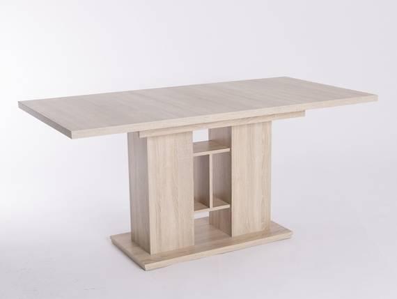isabel esstisch 120 160x80 cm eiche sonoma. Black Bedroom Furniture Sets. Home Design Ideas