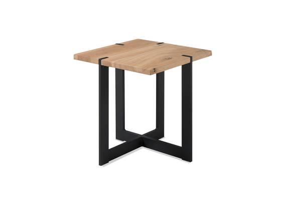 TAINA MINI Couchtisch / Beistelltisch 45x45 cm, Material Massivholz, Eiche massiv  DETAIL_IMAGE