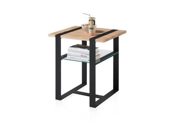 TILANO MINI Couchtisch / Beistelltisch, Material Massivholz, Eiche, 50x40 cm  DETAIL_IMAGE