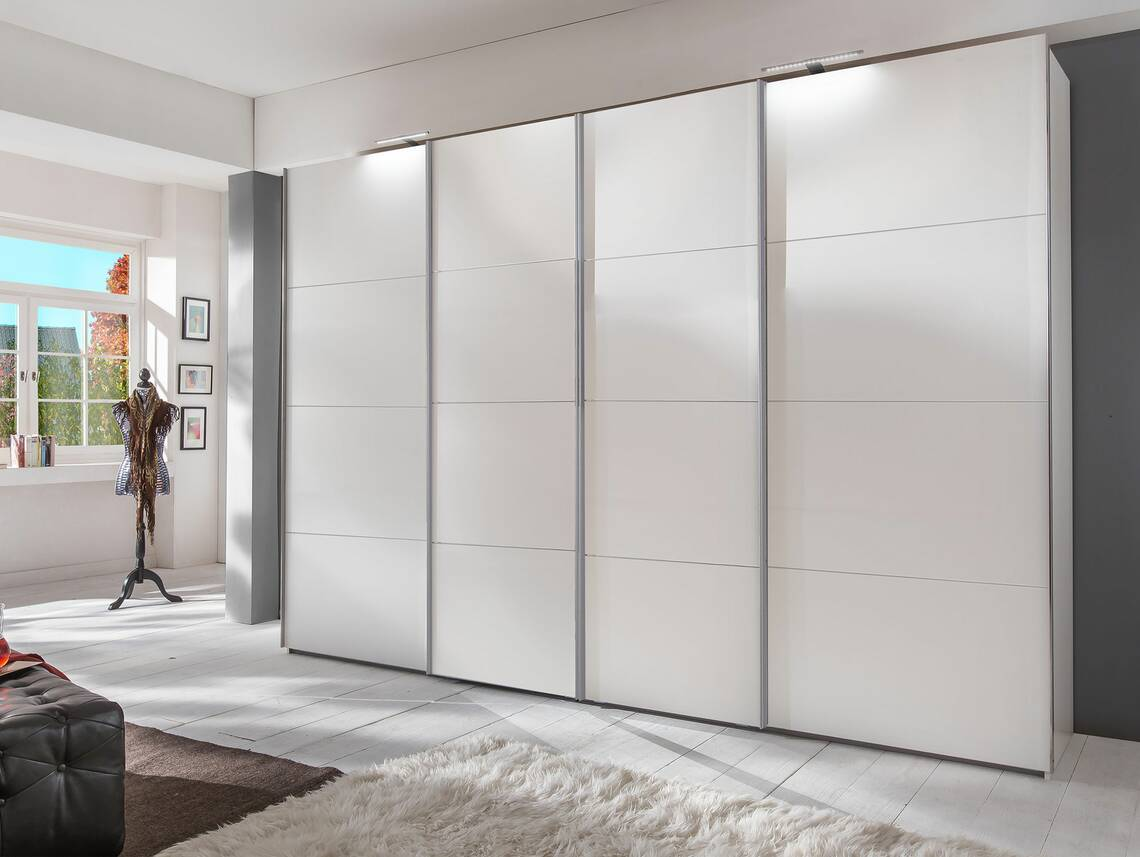 bombay schwebet renschrank 270 cm weiss. Black Bedroom Furniture Sets. Home Design Ideas