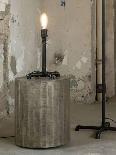 TAFEL Tischlampe industrial tube schwarz  DETAIL_IMAGE