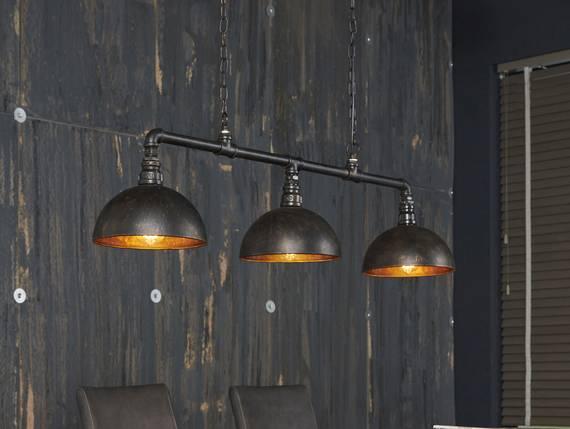 LEAH Hängelampe 3 Lampen Halbkugel-Lampenschirm  DETAIL_IMAGE