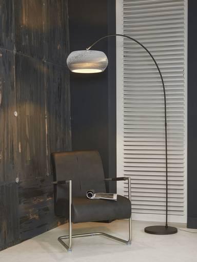 caiden stehlampe bogenlampe weiss. Black Bedroom Furniture Sets. Home Design Ideas