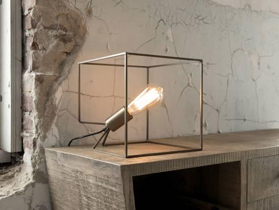 CUBE Tischlampe Bronze  DETAIL_IMAGE