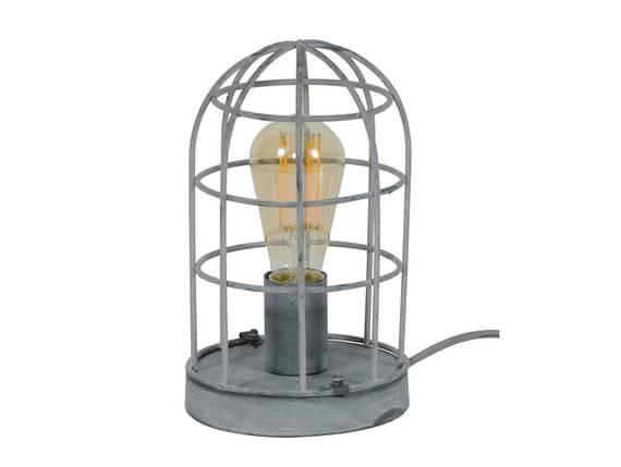 DAMIAN Tischlampe grau klein  DETAIL_IMAGE