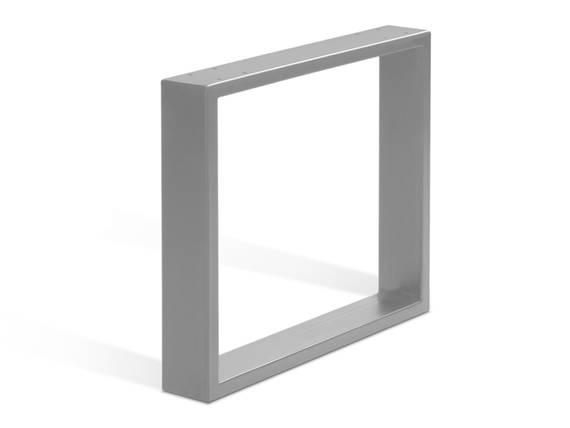 1 Paar Kufen für Sitz- und Eckbänke, Material Edelstahl 30 cm DETAIL_IMAGE