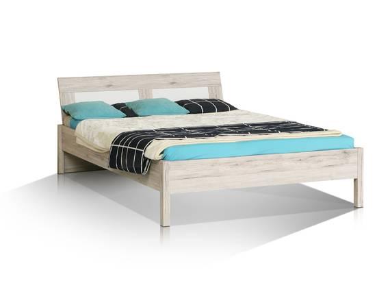 BEAT Jugendbett, Material Dekorspanplatte, sandeichefarbig/weiss 90 x 200 cm DETAIL_IMAGE