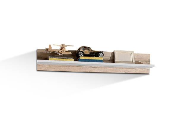 BEAT Wandregal, Material Dekorspanplatte, sandeichefarbig/weiss  DETAIL_IMAGE