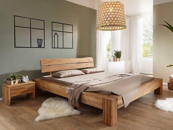 BENISSA Doppelbett Wildeiche geölt 160 x 200 cm DETAIL_IMAGE