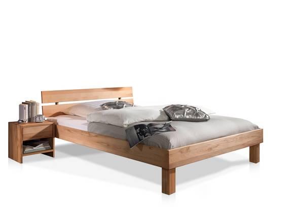 CARIA Doppelbett/Massivholzbett 100 x 200 | Kernbuche DETAIL_IMAGE