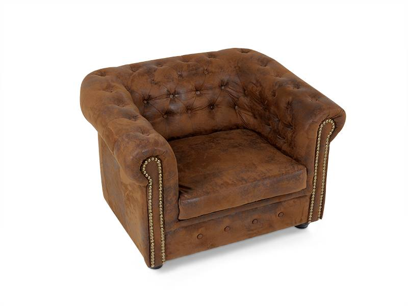 chesterfield sessel gobi braun. Black Bedroom Furniture Sets. Home Design Ideas