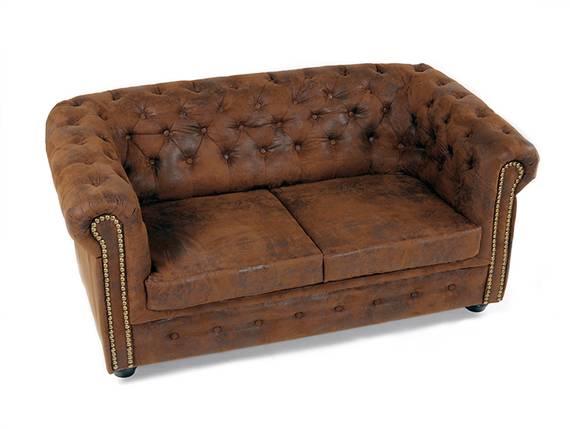 CHESTERFIELD 2-Sitzer Sofa Gobi braun  DETAIL_IMAGE