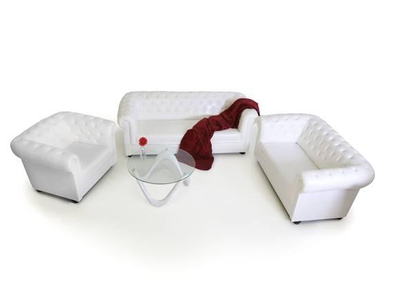 CHESTERFIELD 3-2-1 Sofagarnitur antikweiß  DETAIL_IMAGE
