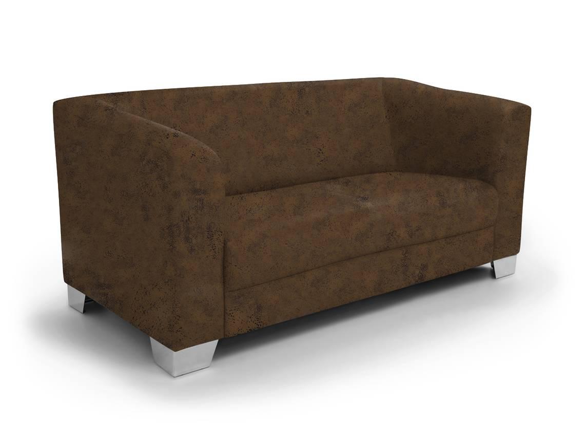 chicago 3 sitzer sofa gobi 03 braun. Black Bedroom Furniture Sets. Home Design Ideas