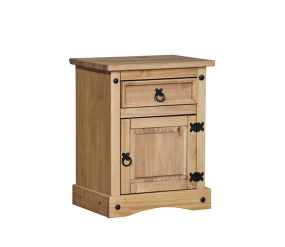 COLMAN Nachtkommode, Material Massivholz, Kiefer honig gewachst  DETAIL_IMAGE