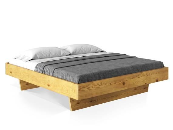 CURBY Wangenbett ohne Kopfteil, Material Massivholz 90 x 200 cm | natur DETAIL_IMAGE