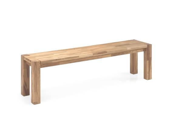 daytona sitzbank 160x35 cm eiche ge lt. Black Bedroom Furniture Sets. Home Design Ideas