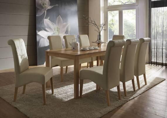 emanuela ausziehbarer esstisch massivholztisch lackiert buche mit mittelauszug. Black Bedroom Furniture Sets. Home Design Ideas