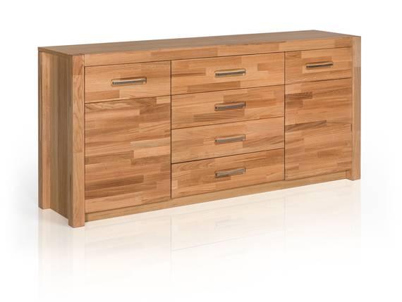 FANJA Sideboard, Material Massivholz Wildeiche teilmassiv DETAIL_IMAGE