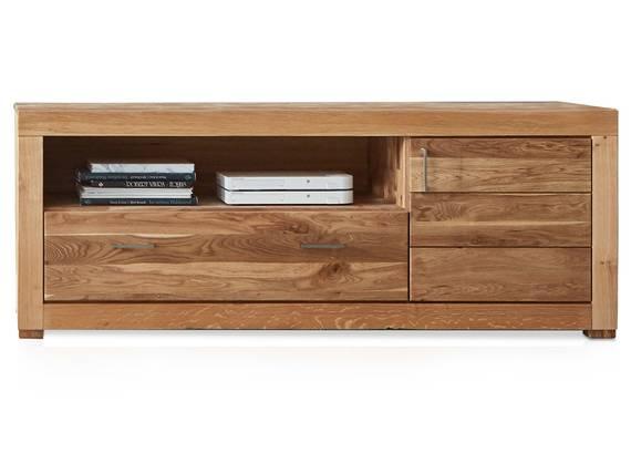 ALANDO Lowboard III, Material Massivholz, Wildeiche geölt  DETAIL_IMAGE