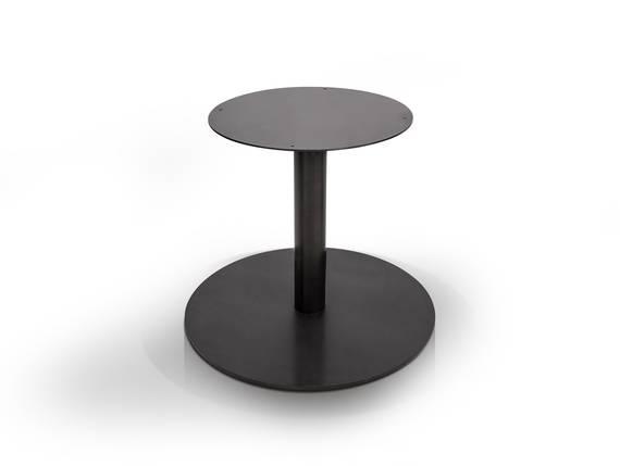 Tischgestell für GASTRO Esstisch rund, Material Stahl, schwarz  DETAIL_IMAGE