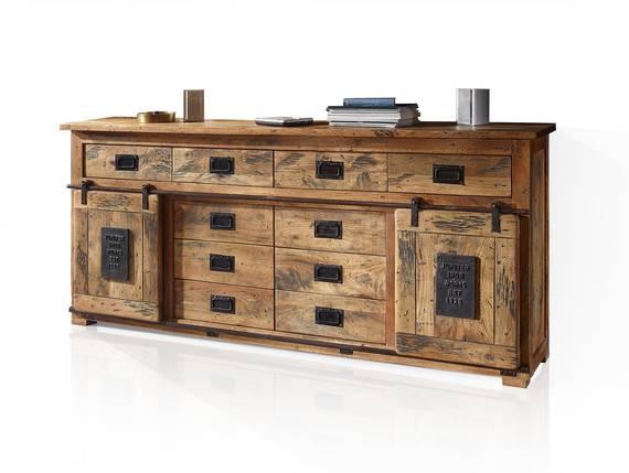 BRISTOL Sideboard IV, Material Massivholz, Mango rustikal  DETAIL_IMAGE