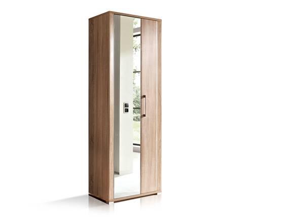 GRANDE Garderobenschrank, Material Dekorspanplatte, Eiche sonomafarbig  DETAIL_IMAGE