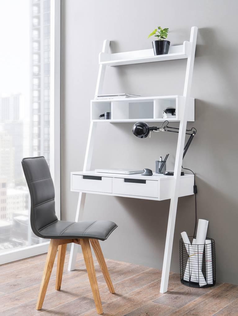 henry schreibtisch wei. Black Bedroom Furniture Sets. Home Design Ideas