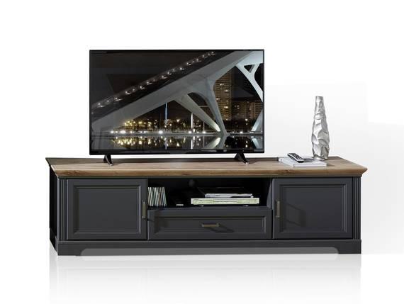 JADY TV-Unterteil 2, Material MDF graphitfarbig/eichefarbig DETAIL_IMAGE