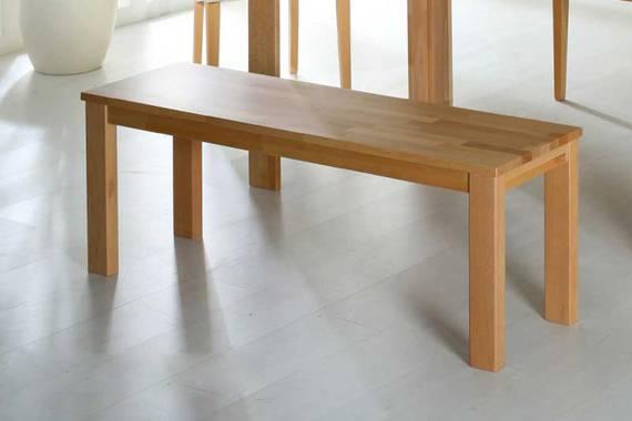 JAN Sitzbank vollmassiv lackiert 118 x 35 cm Kernbuche DETAIL_IMAGE
