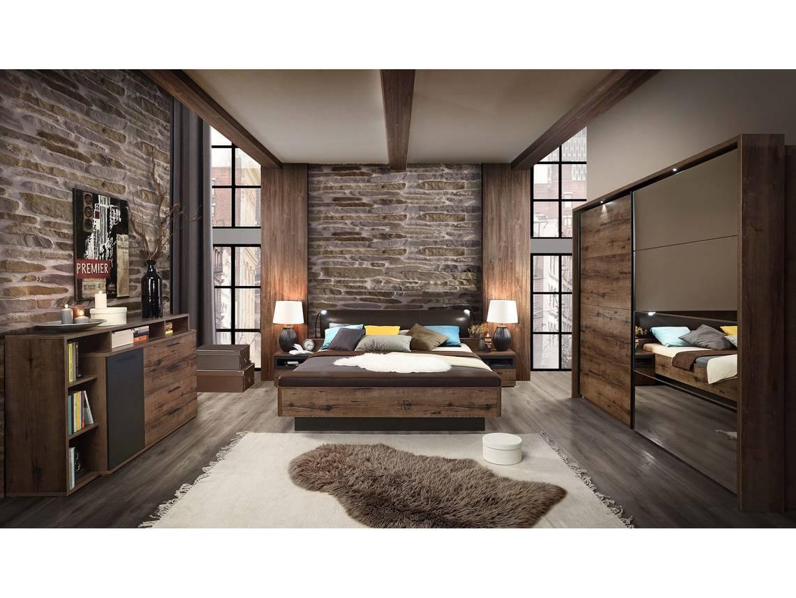 Jesolo komplett schlafzimmer schlammeiche dekor for Mobel schlafzimmer komplett