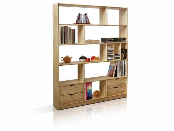 JOVA Regal / Raumteiler, Material Massivholz, Kiefer  DETAIL_IMAGE