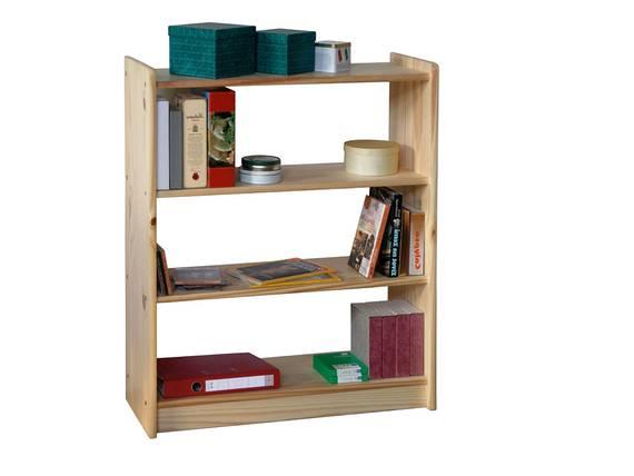 KELLY Regal / Bücherregal, Material Massivholz, Kiefer 100 cm DETAIL_IMAGE