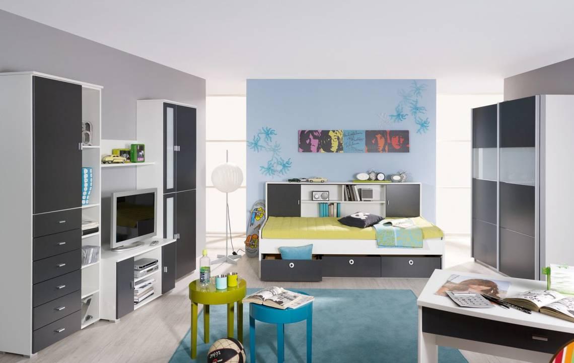 COOKIE III Komplett-Schlafzimmer 136 cm   Alpinweiss DETAIL_IMAGE 1