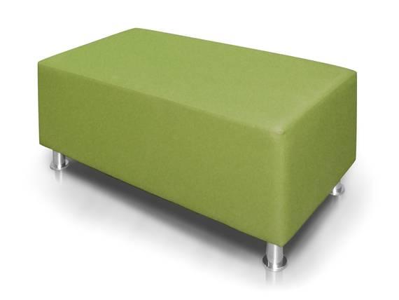 KUBO Sitzwürfel 140 cm, Material Kunstleder grün DETAIL_IMAGE