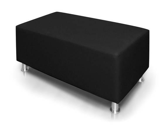 KUBO Sitzwürfel 140 cm, Material Kunstleder schwarz DETAIL_IMAGE