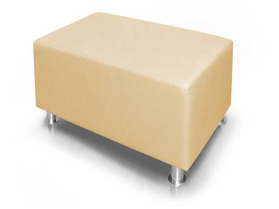 KUBO Sitzwürfel, Material Kunstleder, 90 cm beige DETAIL_IMAGE