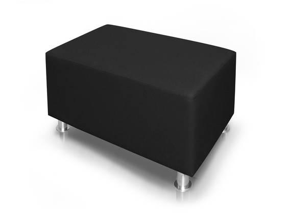 KUBO Sitzwürfel Kunstleder 90 cm schwarz DETAIL_IMAGE