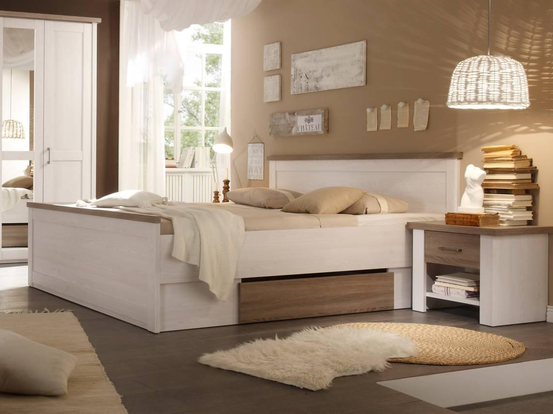 lucy futonbett bettanlage inkl nakos pinie wei tr ffel. Black Bedroom Furniture Sets. Home Design Ideas