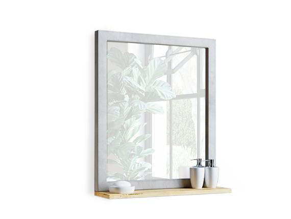 GLAY Spiegel, Material Massivholz, Pinie, Beton  DETAIL_IMAGE