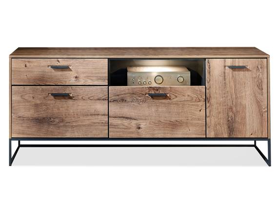 MILTON Sideboard I, Material MDF, eichefarbig  DETAIL_IMAGE