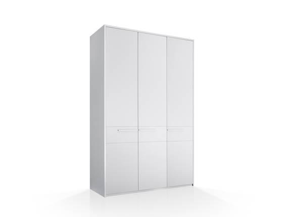 MELBOURNE Schranksystem 3trg, Material Dekorspanplatte, weiss inklusive Türen DETAIL_IMAGE