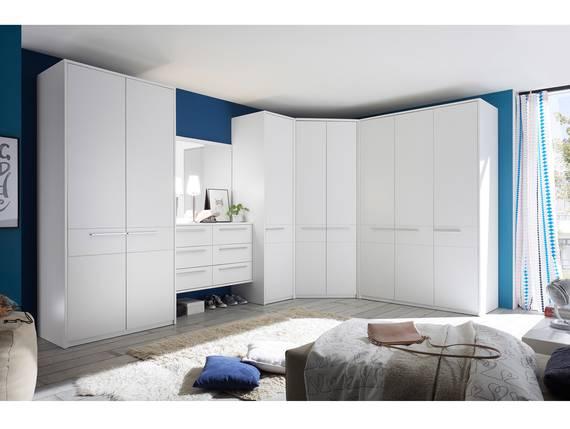 MELBOURNE Kleiderschranksystem, Material Dekorspanplatte, weiss  DETAIL_IMAGE